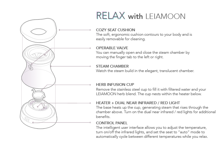 relaxing with leiamoon
